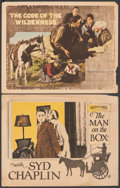 """Movie Posters:Comedy, The Man on the Box & Other Lot (Warner Bros., 1925). Fine+. Lobby Cards (2) (11"""" X 14""""). Comedy.. ... (Total: 2 Items)"""