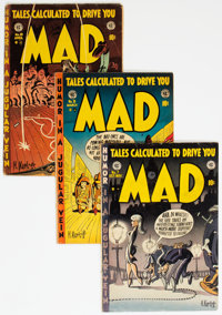 MAD Group of 20 (EC, 1953-55) Condition: Average GD.... (Total: 20 Comic Books)