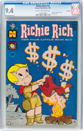 Silver Age (1956-1969):Humor, Richie Rich #10 File Copy (Harvey, 1962) CGC NM 9.4 Cream to off-white pages....