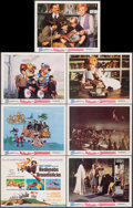 """Movie Posters:Animation, Bedknobs and Broomsticks & Other Lot (Buena Vista, 1971). Overall: Very Fine. Title Lobby Card & Lobby Cards (11) (11"""" X 14""""... (Total: 12 Items)"""