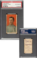 Baseball Cards:Singles (Pre-1930), 1909-11 T206 Drum Charley Carr PSA Authentic - Only PSA-Graded Example For Brand! ...