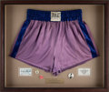 Boxing Collectibles:Memorabilia, 1940's-50's Joe Louis Fight Worn Trunks from the Mannie Seamon Collection....