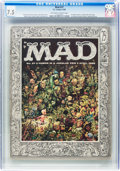 Magazines:Mad, MAD #27 (EC, 1956) CGC VF- 7.5 Off-white to white pages....