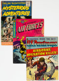 Golden Age (1938-1955):War, Golden Age War Related Group (Various Publishers, 1950s).... (Total: 3 Comic Books)