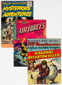 Golden Age War Related Group (Various Publishers, 1950s).... (Total: 3 Comic Books)