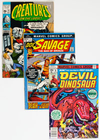Bronze Age Comics Group of 53 (Various Publishers, 1960s-70s) Condition: Average VG.... (Total: 53 Comic Books)