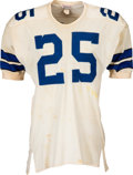 Football Collectibles:Uniforms, 1967-68 Les Shy Game Worn Dallas Cowboys Jersey. ...