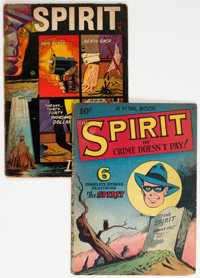 The Spirit Group of 2 (Quality/Fiction House, 1945-52).... (Total: 2 Comic Books)