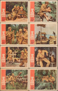 """Movie Posters:War, None But the Brave (Warner Bros., 1965). Fine+. Lobby Card Set of 8 (11"""" X 14""""). War.. ... (Total: 8 Items)"""