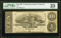 Confederate Notes:1863 Issues, T59 $10 1863 PF-13 Cr. 439 PMG Very Fine 25.. ...