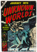 Golden Age (1938-1955):Horror, Journey Into Unknown Worlds #24 (Atlas, 1954) Condition: VG+....