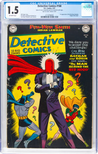 Detective Comics #168 (DC, 1951) CGC FR/GD 1.5 Off-white pages