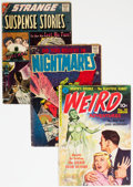 Golden Age (1938-1955):Horror, Golden and Silver Age Horror Comics Group of 4 (Various Publishers, 1950s) Condition: Average GD.... (Total: 4 Comic Books)