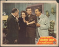"""Movie Posters:Mystery, Charlie Chan in the Secret Service (Monogram, 1944). Fine. Lobby Card (11"""" X 14""""). Mystery.. ..."""