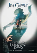 "Lemony Snicket's A Series of Unfortunate Events (Paramount, 2004). Rolled, Very Fine. One Sheets (2) (27"" X 40""..."