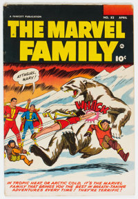 The Marvel Family #82 (Fawcett Publications, 1953) Condition: VG/FN