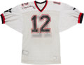 Football Collectibles:Uniforms, 1985 Doug Williams Game Worn & Signed Arizona Outlaws USFL Jersey....