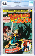 Bronze Age (1970-1979):Superhero, Howard the Duck #1 (Marvel, 1976) CGC NM/MT 9.8 White pages....