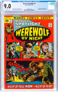 Bronze Age (1970-1979):Superhero, Marvel Spotlight #2 Werewolf by Night (Marvel, 1972) CGC VF/NM 9.0 Off-white pages....