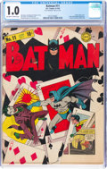 Batman #11 (DC, 1942) CGC FR 1.0 Off-white to white pages