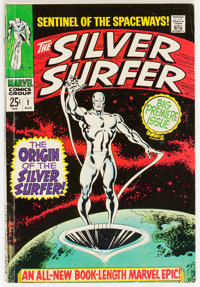 The Silver Surfer #1 (Marvel, 1968) Condition: VG+