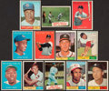 Baseball Cards:Sets, 1961 Topps Baseball Partial Set (297) With Some Stars. ...