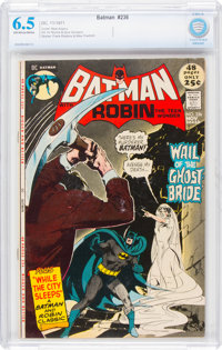 Batman #236 (DC, 1971) CBCS FN+ 6.5 Off-white to white pages