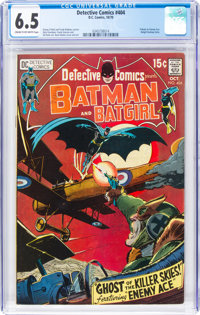 Detective Comics #404 (DC, 1970) CGC FN+ 6.5 Cream to off-white pages