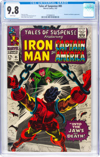 Tales of Suspense #85 (Marvel, 1967) CGC NM/MT 9.8 White pages
