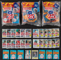 Baseball Cards:Unopened Packs/Display Boxes, 1979-84 Donruss, Fleer & Topps Cello/Pack Collection Plus 1984 Drake Complete Set....