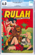 Golden Age (1938-1955):Adventure, Rulah Jungle Goddess #21 (Fox Features Syndicate, 1948) CGC FN 6.0 Off-white pages....