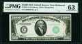 Small Size:Federal Reserve Notes, Fr. 2221-E $5,000 1934 Federal Reserve Note. PMG Choice Uncirculated 63.. ...