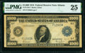 Large Size:Federal Reserve Notes, Fr. 1133-F $1,000 1918 Federal Reserve Note PMG Very Fine 25.. ...