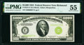 Small Size, Fr. 2221-E $5,000 1934 Federal Reserve Note. PMG About Uncirculated 55.. ...