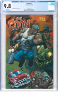 Modern Age (1980-Present):Horror, The Goon #2 (Avator Press, 1999) CGC NM/MT 9.8 White pages....
