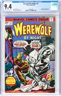 Bronze Age (1970-1979):Horror, Werewolf by Night #32 (Marvel, 1975) CGC NM 9.4 Off-white to white pages....