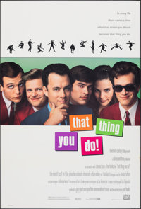 """That Thing You Do! & Other Lot (20th Century Fox, 1996). Rolled, Very Fine-. One Sheets (2) (26.75"""" X 39.75&quo..."""