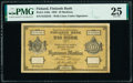 World Currency, Finland Finlands Bank 10 Markkaa 1882 Pick A46a PMG Very Fine 25.. ...