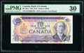 World Currency, Canada Bank of Canada $10 1971 Pick 88c BC-49c-i EET Prefix PMG Very Fine 30.. ...