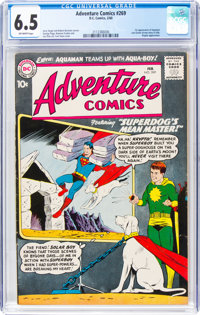 Adventure Comics #269 (DC, 1960) CGC FN+ 6.5 Off-white pages