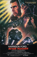 "Movie Posters:Science Fiction, Blade Runner (Warner Bros., 1982). Rolled, Very Fine. One Sheet (27"" X 41"") Rolled Studio Version. John Alvin Artwork. Scien..."