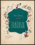 "Movie Posters:Animation, Fantasia (RKO, 1940). Fine/Very Fine. Program (32 Pages, 9.75"" X 12.75). Animation.. ..."