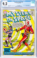 Silver Age (1956-1969):Superhero, Mystery in Space #75 (DC, 1962) CGC NM- 9.2 White pages....