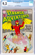 Silver Age (1956-1969):Science Fiction, Strange Adventures #127 (DC, 1961) CGC NM- 9.2 White pages....