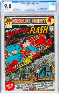 World's Finest Comics #198 (DC, 1970) CGC VF/NM 9.0 White pages