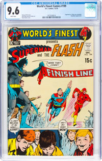 World's Finest Comics #199 (DC, 1970) CGC NM+ 9.6 White pages