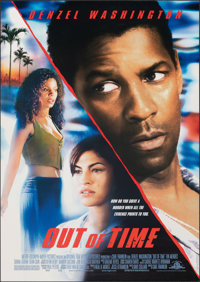 "Out of Time & Other Lot (MGM, 2003). Rolled, Overall: Very Fine. One Sheets (3) (Approx. 27"" X 40"") DS. Th..."
