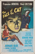 """Movie Posters:Foreign, The Face of the Cat (Ellis, 1959). Folded, Fine+. One Sheet (27"""" X 41""""). Foreign.. ..."""