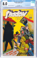 Golden Age (1938-1955):Crime, Shadow Comics V4#5 (Street & Smith, 1944) CGC VF 8.0 Off-white to white pages....