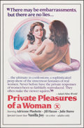"""Movie Posters:Adult, Private Pleasures of a Woman & Other Lot (Caballero, 1983). Folded, Very Fine+. One Sheets (2) (27"""" X 41""""). Adult.. ... (Total: 2 Items)"""
